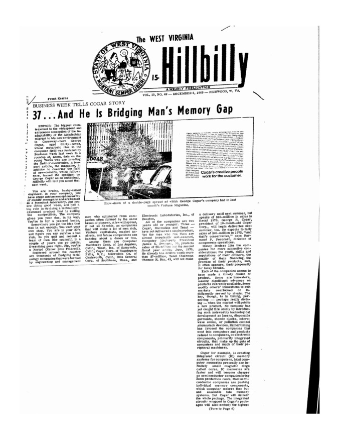 the hillbilly dec 1969.jpg
